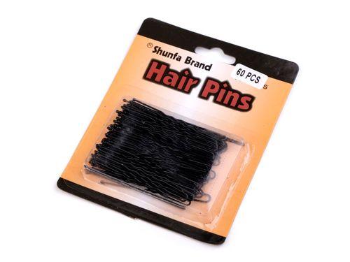 Proste szpilki do włosów 60 mm czarne 60 sztuk na Arena.pl