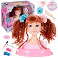 Głowa do Stylizacji Fryzur Makijaż Włosy Akcesoria U109