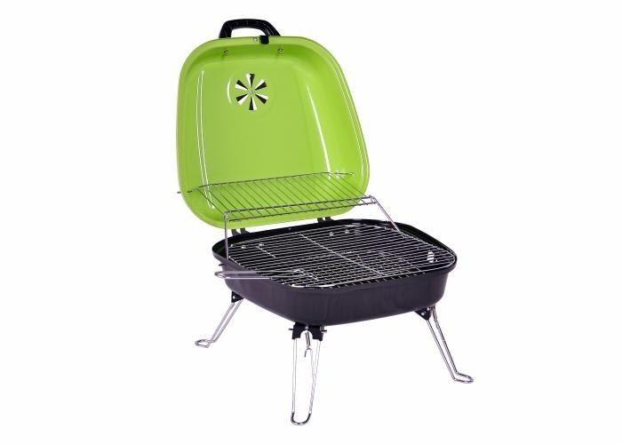 Grill ogrodowy węglowy, BBQ, grill przenośny zdjęcie 2