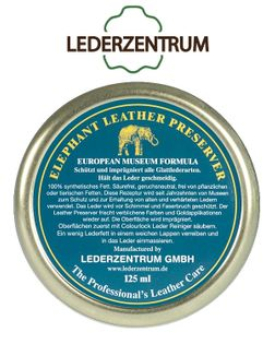 Wosk do skóry LEDERZENTRUM® Elephant Leather Preserver 125ml