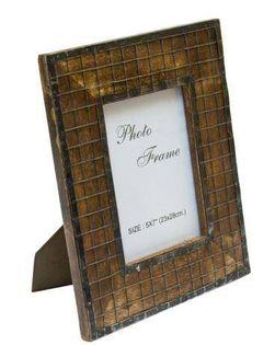 Drewniana ramka na zdjęcia - A-1329, format zdjęcia 13x18cm