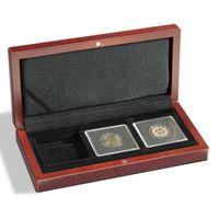 Pudełko na 3 monety w kapslach Quadrum - Volterra