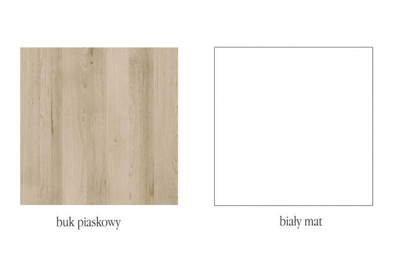 Komoda 2D, Kolekcja MALMO, Styl Skandynawski zdjęcie 3