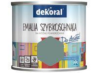 Farba Dekoral Akrylux Emalia szybkoschnąca (0.5 l, Szara komórka)