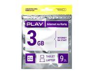 Starter PLAY INTERNET 3G LTE 9zł do E5573 E3372