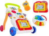 Pchacz jeździk interaktywny edukacyjny 3w1