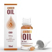 OLEJEK KONOPNY 5% CBD 500mg/10ml Amber Oil - 10ml