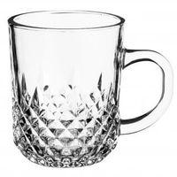 Kubek szklany szklanka z uchem SPIKE 230 ml