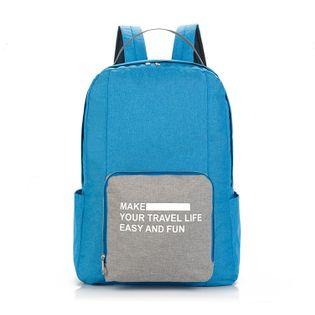 Plecak składany - podróżny, miejski, praktyczny - kolory!