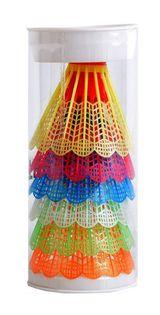 Lotki do Badmintona TB021 Teloon plastik 6 sztuk