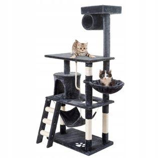 Drapak dla kota duży wieża legowisko domek hamak