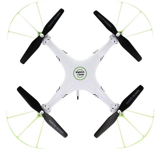 Dron Syma X5HW kamera Wi-Fi funkcja zawisu Gogle VR 3D Biały Y142GB zdjęcie 8