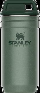 Kieliszki stalowe w etui ADVENTURE 4 x 60 ml Stanley zielone