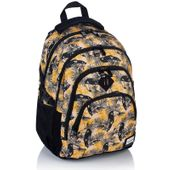 Plecak szkolny młodzieżowy Astra Head HD-88, w tukany