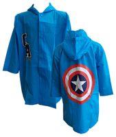 Płaszcz przeciwdeszczowy Captain America licencja (AV5228294 110/116)