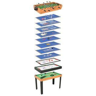 Stół Do Gier 15-W-1, 121X61X82 Cm, Klon