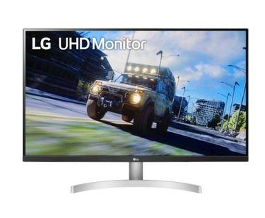 "Monitor Lg 31.5"" 3840 X 2160 32Un500-W Czarno-Srebrny"