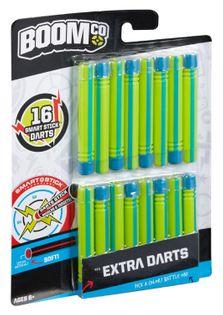 BoomCo strzałki Smart Stick 16 szt. Niebiesko-Zielone uzupełnienie akcesoria