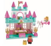 Ecoiffier 3088 Abrick Klocki Zamek Księżniczki Pałac