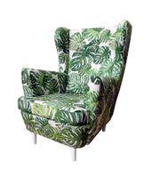 Fotel USZAK, stylowy, nowy. Super cena!!! WZORY LIŚCIE- NOWOŚĆ