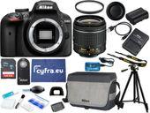 Aparat Nikon D3400 + 18-55 VR +ZESTAW XXL + szmatka