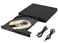 Zewnętrzny napęd CD-R/RW/DVD-ROM USB nagrywarka CD