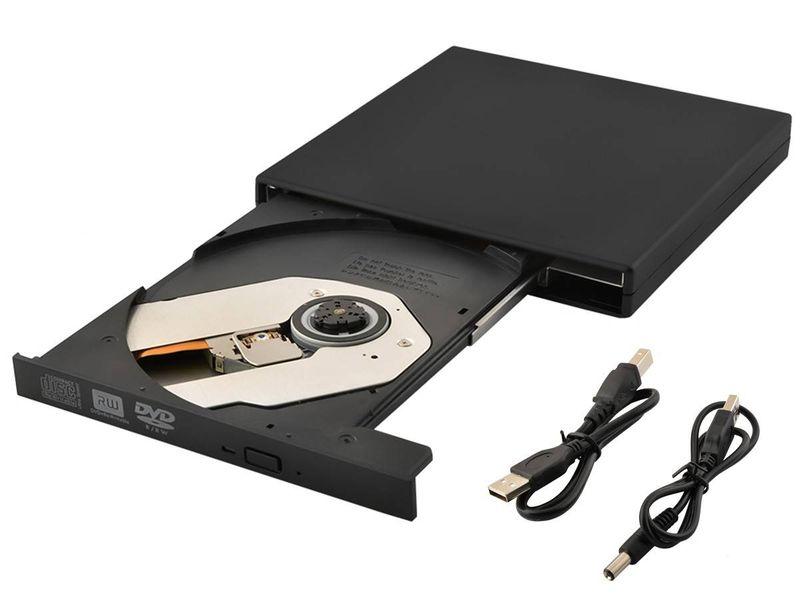 Zewnętrzny napęd CD-R/RW/DVD-ROM USB nagrywarka CD zdjęcie 1