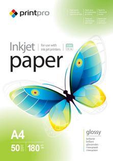 Papier Fotograficzny PrintPro Błyszczący A4 180g 50 szt