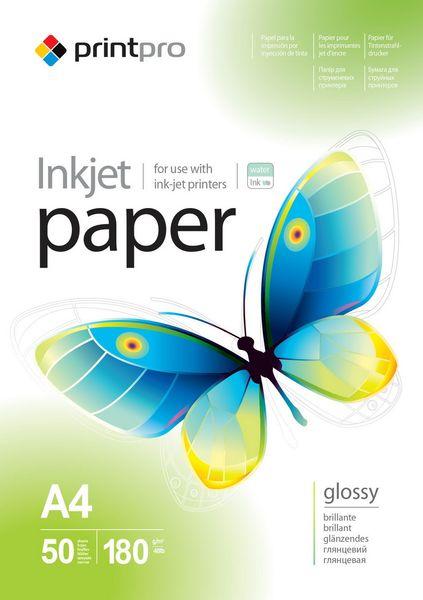 Papier Fotograficzny PrintPro Błyszczący A4 180g 50 szt na Arena.pl