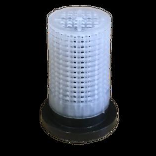 Filterek dyszy rozpylacza z zaworkiem kulką