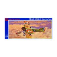 Model plastikowy - Samolot SPAD XIIIC.I French Aces - Glencoe Models
