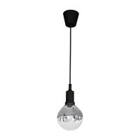 Lampa wisząca 1xE14 BUBBLE Milagro Bubble kolor - Czarny