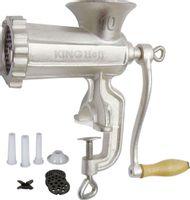 Maszynka Żeliwna Do Mielenia Mięsa #10 + Akcesoria Kinghoff Kh-1428