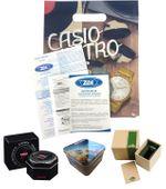 Zegarek  CASIO A168WG-9EF złoty, hologram zdjęcie 4