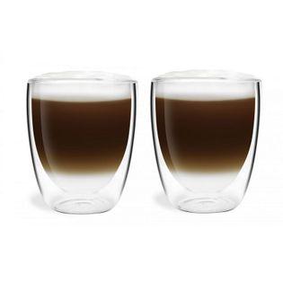 Szklanki Termiczne Kawa Herbata Cappucino Latte 2 sztuki