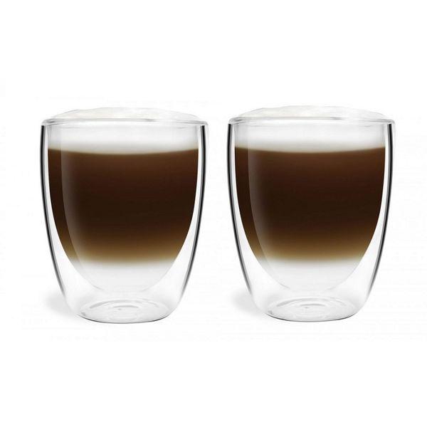 Szklanki Termiczne Kawa Herbata Cappucino Latte 2 sztuki zdjęcie 1