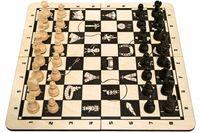 Gra Puzzle Szachy Brązowe