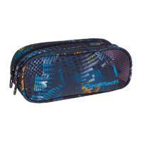 Piórnik szkolny - saszetka Coolpack Clever, Lights Splash 815