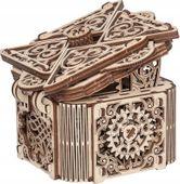 TAJEMNICZE PUDEŁKO Mechaniczne Puzzle 3D Drewniane Wooden City
