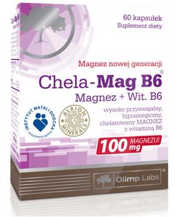 Kompleks Chela-Mag B6 60 kaps magnez + B6 Olimp