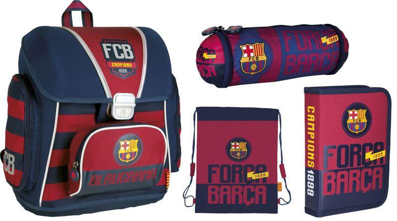 Tornister szkolny FC-76 FC Barcelona w zestawie Z1 zdjęcie 1