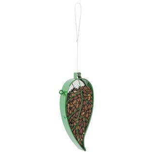 Karmnik dla ptaków w kształcie liścia