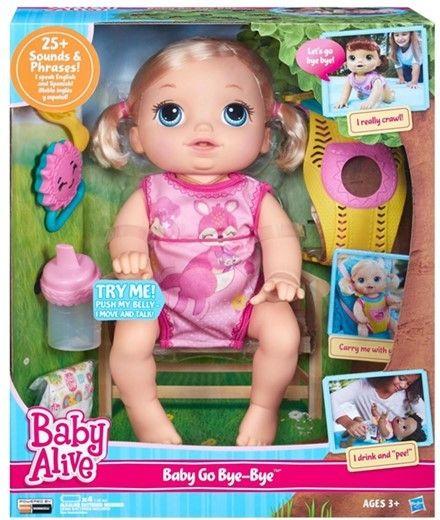 Baby Alive Raczkujący Maluszek B6048 HASBRO zdjęcie 1