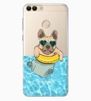 Huawei P Smart | clear | etui na telefon guma silikon + szkło
