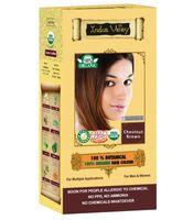 Kasztanowy Brąz - Ziołowa farba z henną w 100% naturalna 120 g Indus Valley