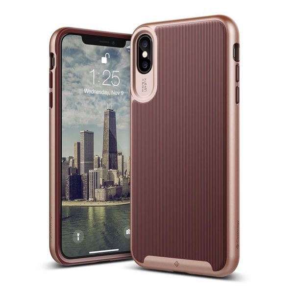 Caseology Wavelength - Etui iPhone Xs Max (bordowe) zdjęcie 1