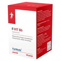 ForMeds F-VIT B6 Witamina B-6 w proszku 60 porcji - układ nerwowy
