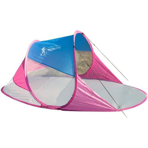 Namiot parawan plażowy samorozkładający 190x90x86cm Royokamp na Arena.pl