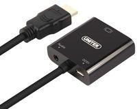 Adapter Unitek Hdmi - Vga + Audio Hdmi (Wtyk) - Vga (Gniazdo) Y-6333