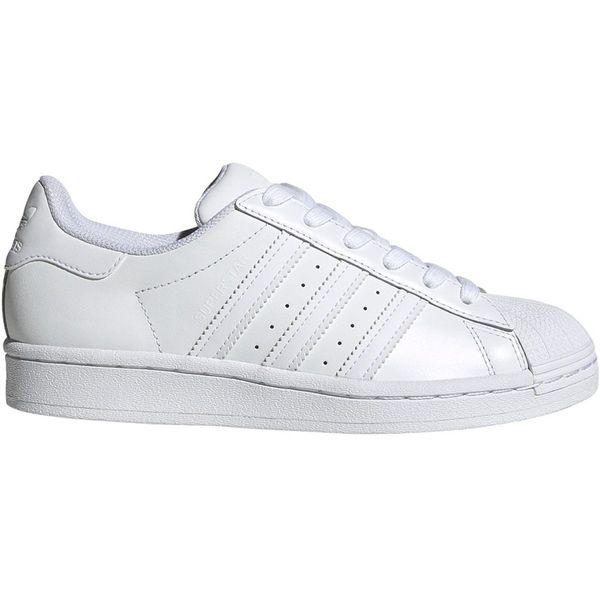 Buty dla dzieci adidas Superstar J białe r.35,5